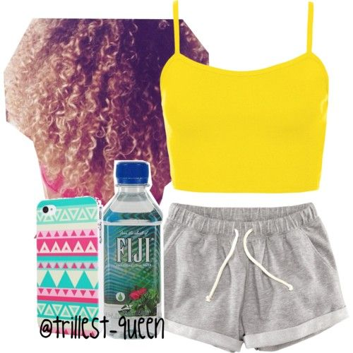 The Trill Dolls Dance Team Rehearsal (Angel's Outfit) by trillest-queen on Polyvore featuring polyvore fashion style Topshop H&M