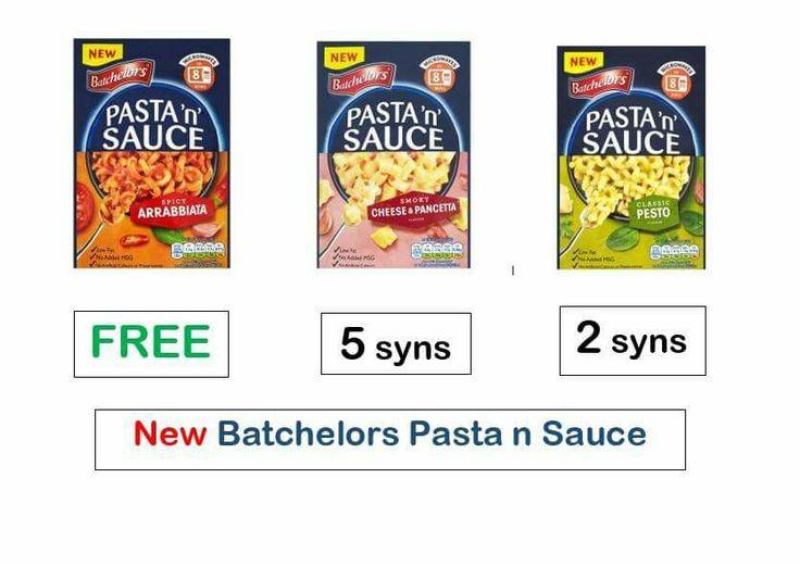 Batchelors Pasta N Sauce Updates Feb 2016 Slimming