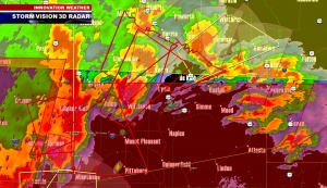 Tornado Warnings NE of Dallas, TX