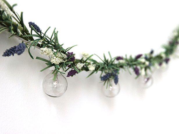 DIY Floral Globe Light Garland | Made + Remade