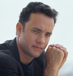 Tom Hanks   awesome actor, he makes me smile