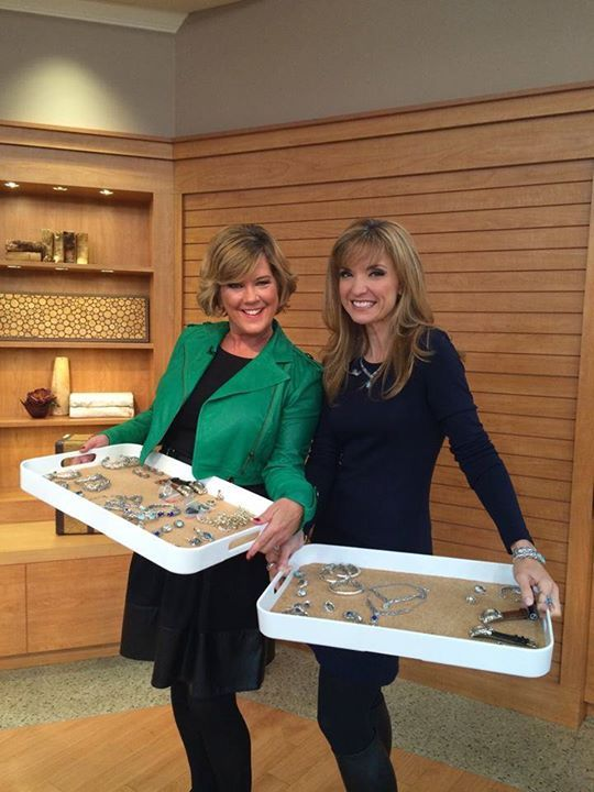 Thank you for a great show last night Jennifer Coffey QVC! It is always so great to be on the show with you!