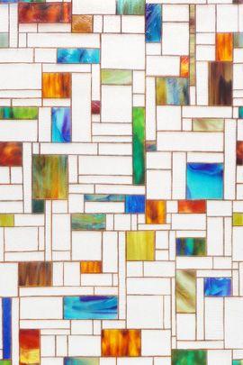 窓 フィルム「WFS-P22 メランジュ」|小窓やガラス戸におすすめのステンドグラス風の窓フィルム。 紫外線カット!遮光・目隠しに|ウィンドウフィルムの専門店 スタイルダート