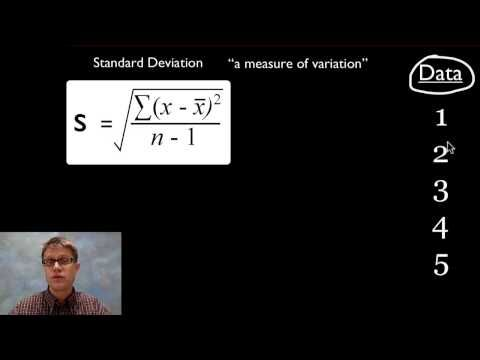 biology homework stansard deviation The variance and standard deviation are measures of how spread out a distribution is these are widely used to measure variability or diversity.
