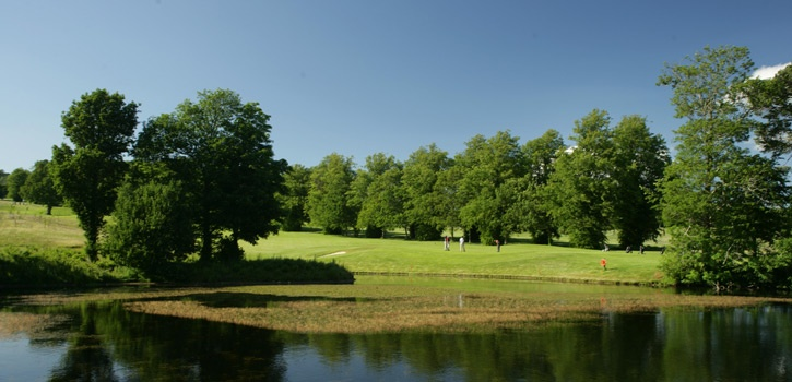 Powerscourt Estate has been owned by the Slazenger family since 1961. It is renowned for its magnificent gardens and the highest waterfall in Ireland. In the early 90's an 18 hole championship course within the 1000 acre estate was conceived. http://www.powerscourt.ie/about-us