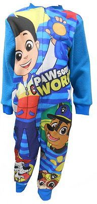 Paw Patrol Boys All in Onesie Sleepsuit