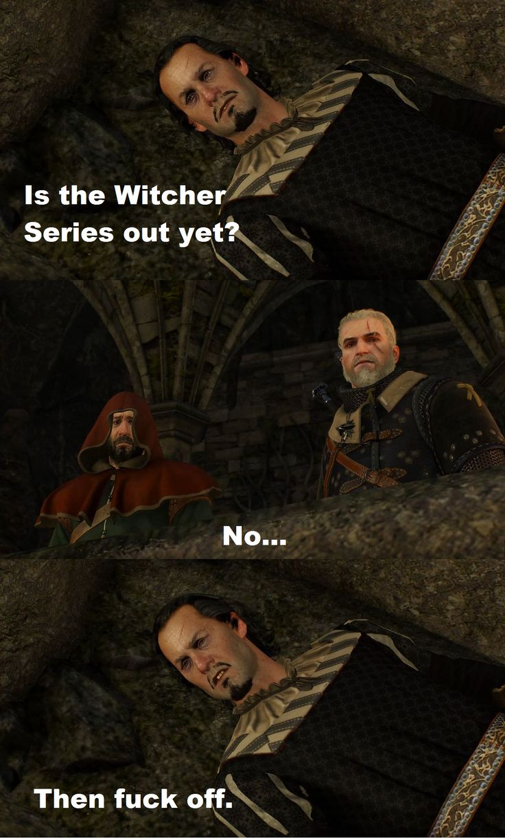 The return of a meme (X-post r/witcher)