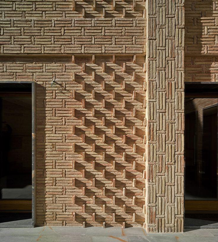 blancafort reus arquitectos ms brick designbrick architecturebrickworktexturewalls - Brick Design Wall