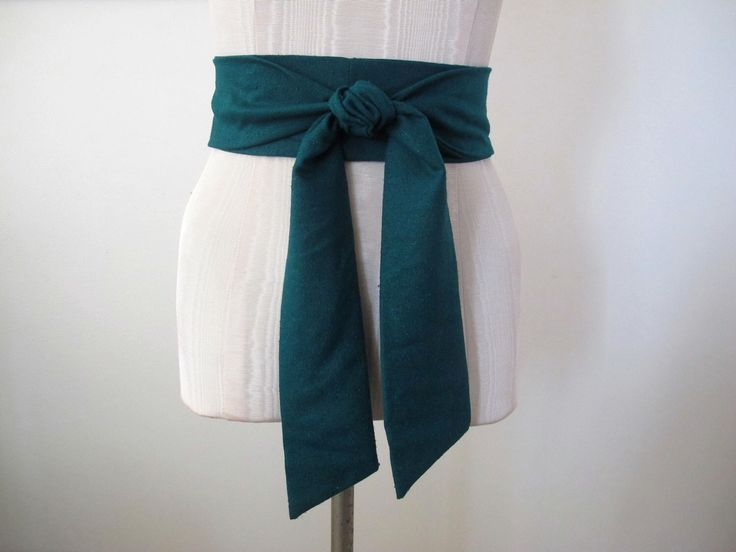 Emerald Green Obi Belt in Raw Silk Fabric by ccdoodle on etsy - made to order by ccdoodle on Etsy https://www.etsy.com/listing/120365245/emerald-green-obi-belt-in-raw-silk