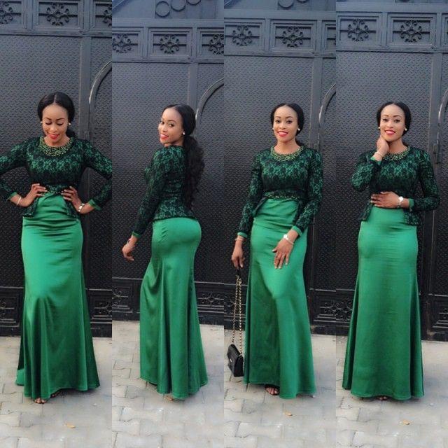 Nigerian Wedding Dress Designs: - Ankara Design ~African Fashion, Ankara, Kitenge, African