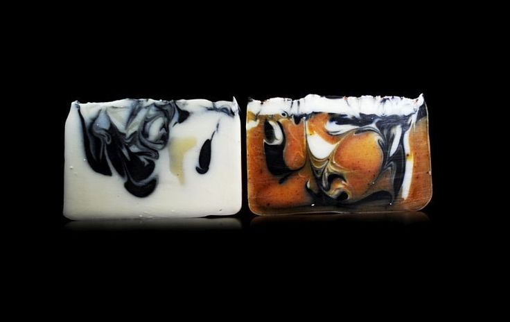 Cool Mint and Sensuous Cedar handmade soaps