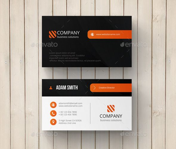 Creative Business Card Template Design Download Http