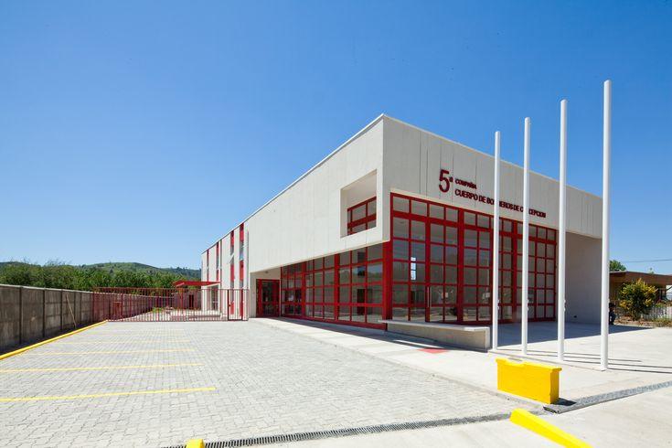 5º Compañía Cuerpo de Bomberos de Concepción / Andreu Arquitectos