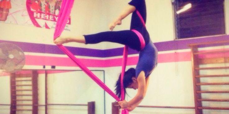 Dedicado a todas aquellas que practican danza aérea, belly dance ...