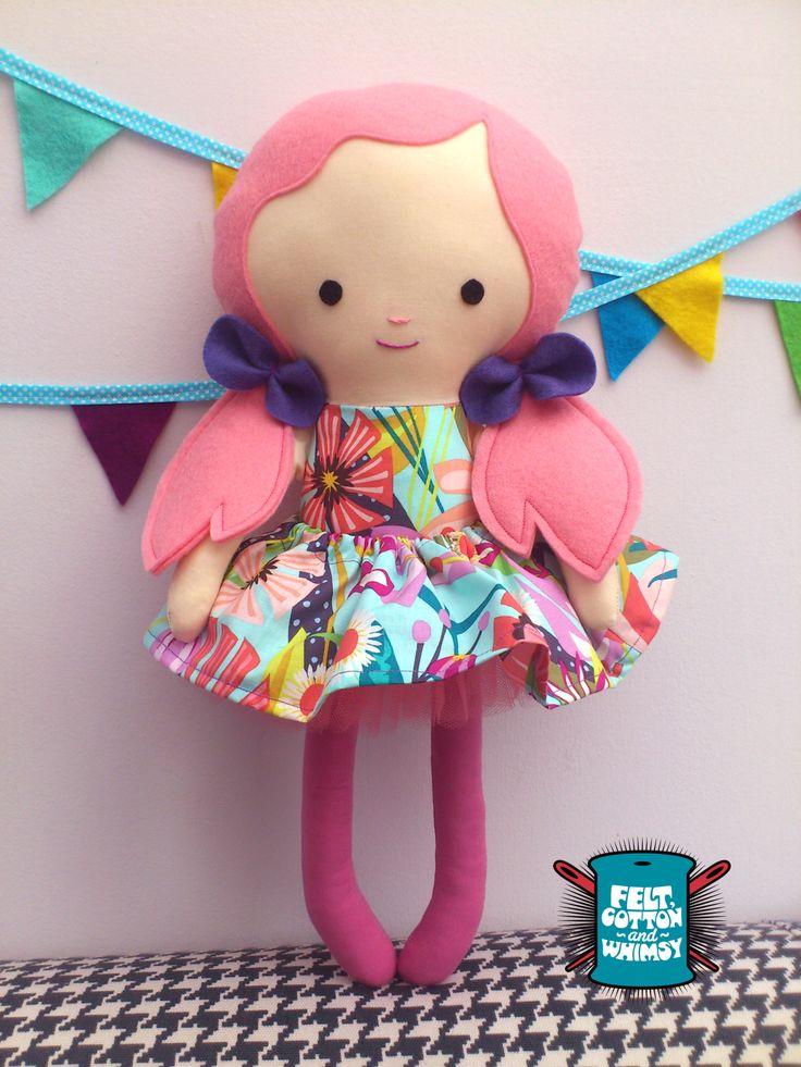 Handmade CE certified Dolls. www.etsy.com/uk/shop/feltcottonandwhimsy www.facebook.com/feltcottonandwhimsy