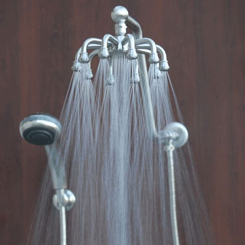 Rainfall Shower Head Unique Octo Rain Combination Features 10 Ful Jets As Laughton Pinterest Heads And