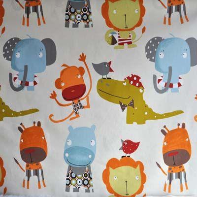 Safari mango nursery ideas pinterest jungle safari for Safari fabric for nursery