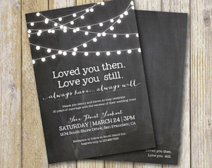 Renewing Wedding Vows Quotes: Best 25+ Vow Renewal Invitations Ideas On Pinterest