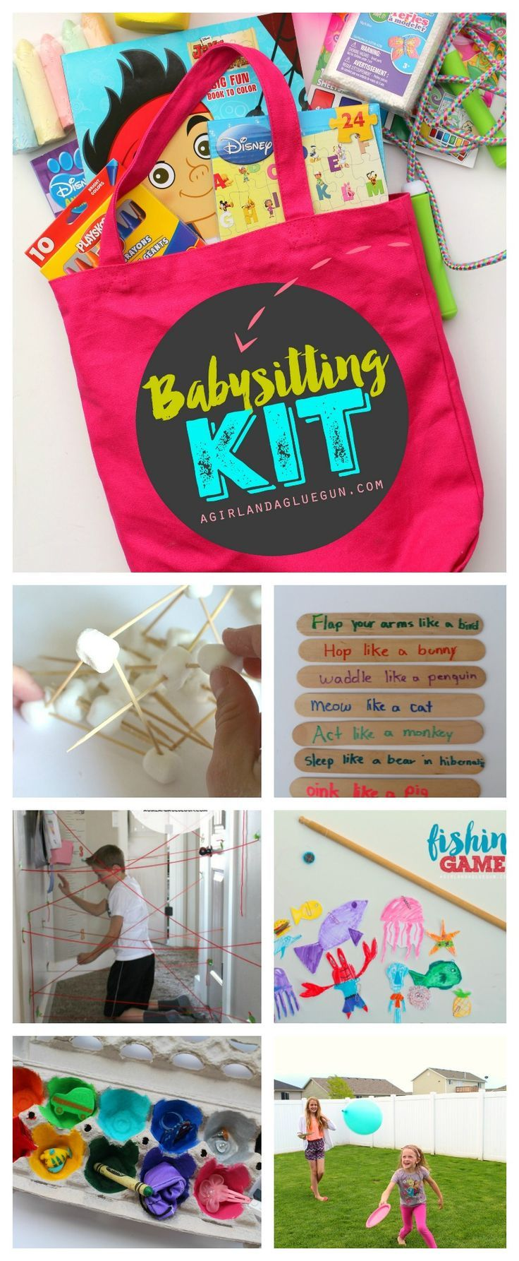 Easy Babysitting Jobs For 13 Year Olds: 1206 Best Kid Crafts And Fun Things To Do Images On