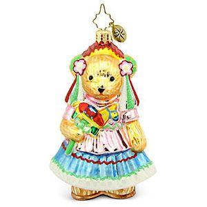 Radko MUFFY Feliz Compleanos Quinceañera Birthday ornament NEW