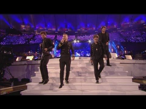 Closing Ceremony - Take That - London 2012 Olympic Games - Amazing....