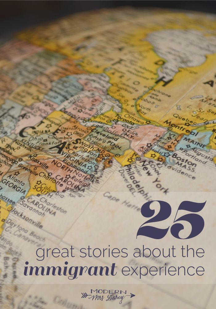 25 great stories about the immigrant experience