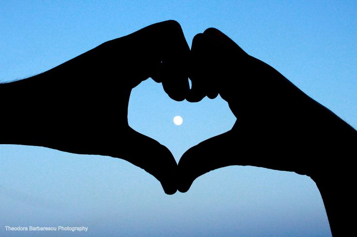 #moon #hands #photography #heart