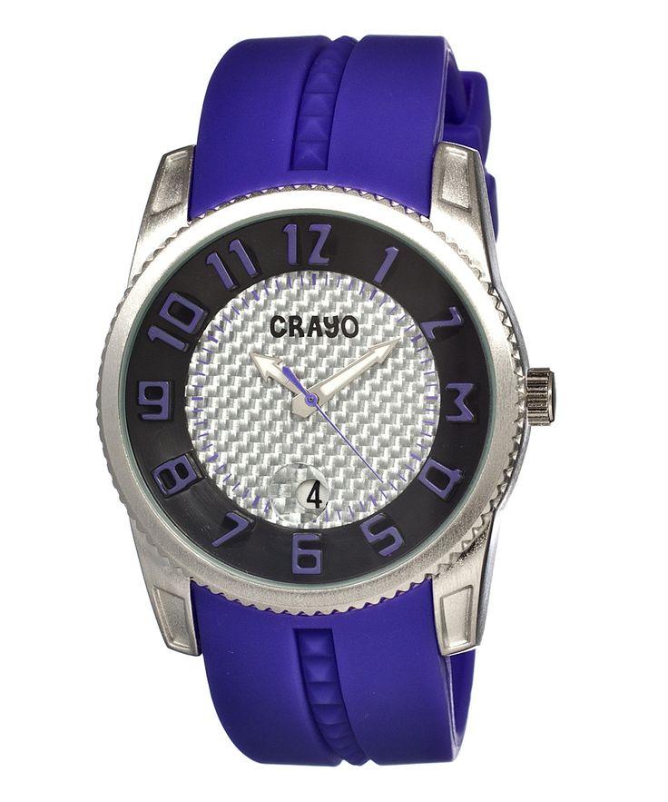 Purple Rugged Watch