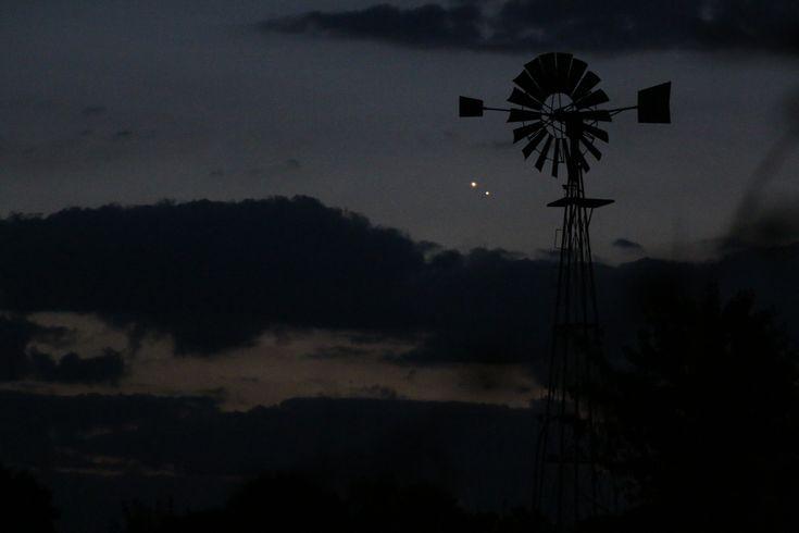 La conjunción Venus-Júpiter, en fotos | El navegante - Blog elcorreo.com