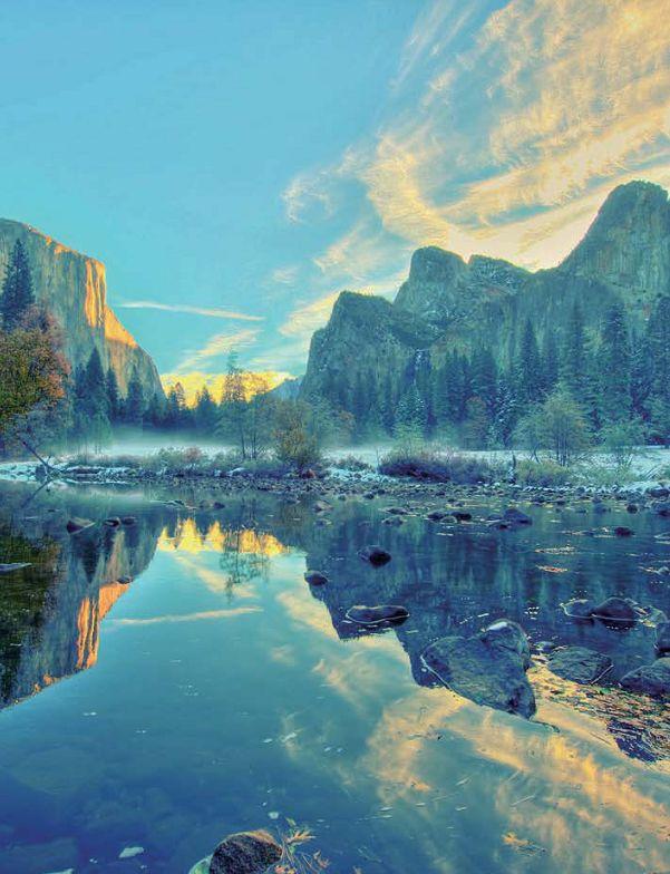 カリフォルニア州ヨセミテ国立公園 Yosemite National Park