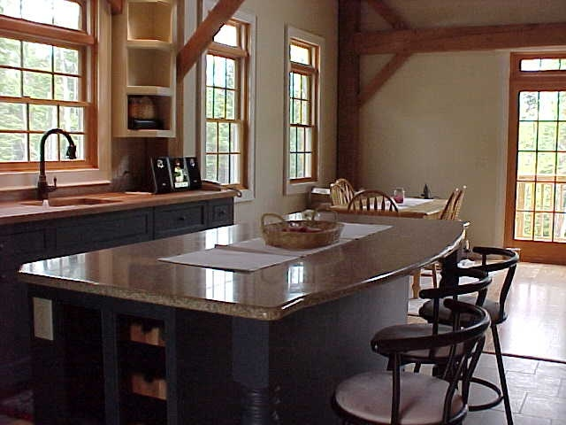 Timberframe Kitchen Colonial style | Products I Love