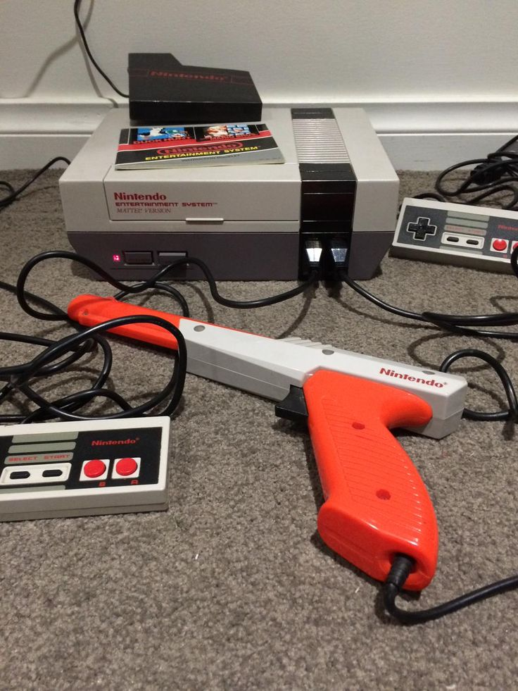 Original Nintendo Mario Bros, I could play this all night. Love the NES. #nes #mariobros #duckhunt #Nintendo