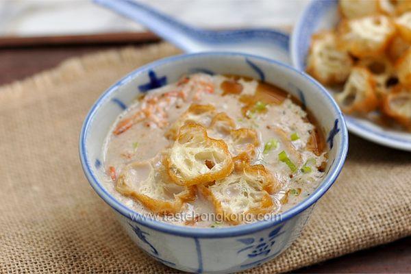 Savory Black Soy Bean Milk Soup | Hong Kong Food Blog with Recipes ...