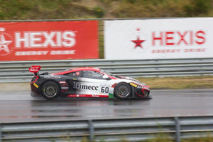 140705 36 Circuitpark Zandvoort _ Zandvoort Masters _ Blancpain Sprint Series _ Fabio Onidi, Giorgio Pantano _ Bhaitech _ McLaren MP4-12C