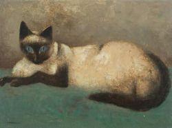 Sali Herman (1898 - 1993) - Cat. 1961. Oil on canvas.