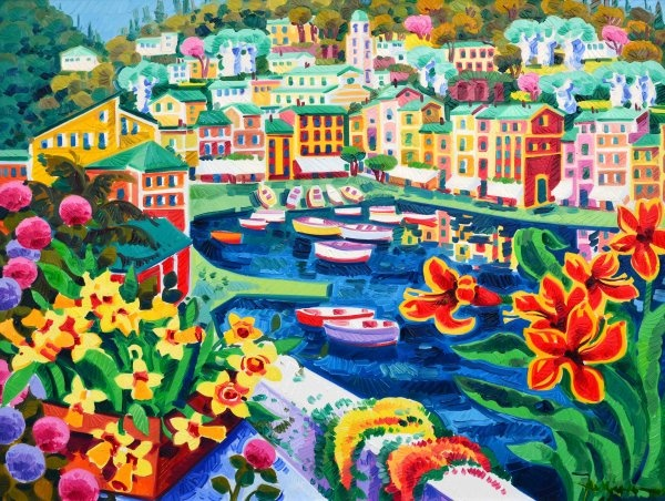 #Portofino: a beautiful landscape by Athos Faccincani