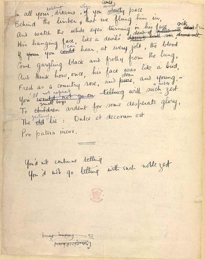 First World War Poetry Essay Peer - image 4
