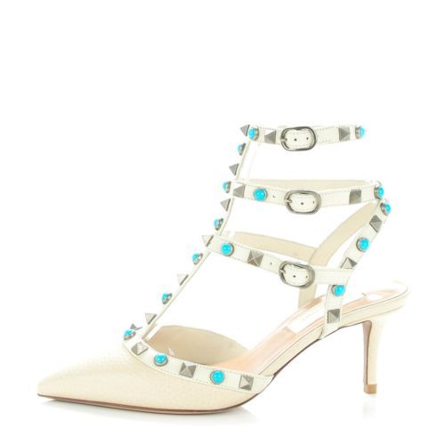 VALENTINO-Alce-Printed-Calfskin-Rockstud-Ankle-Strap-Pumps-34-Ivory-136686