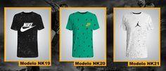 Franelas Nike, Jordan, Adidas Standar Fit Model - Bs. 10.799,99