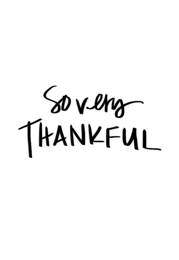 So Very Thankful - Heart Love Always
