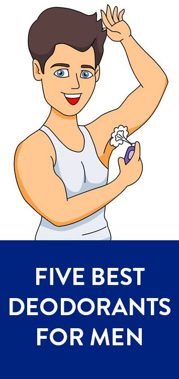 Check out the 5 best deodorants available for men!