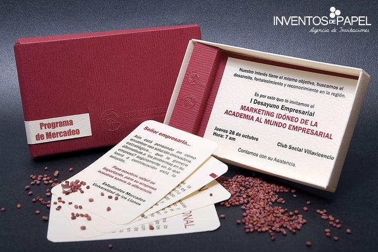 Invitación Evento Empresarial - Programa
