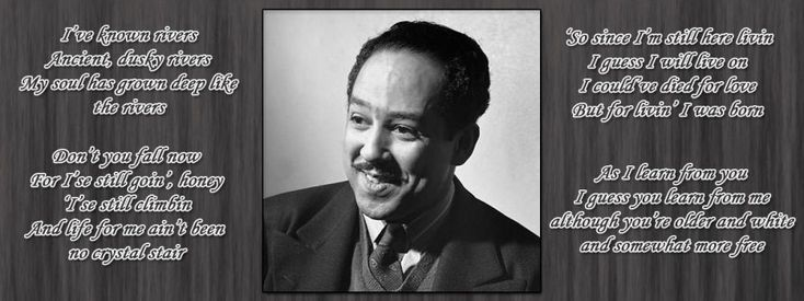 """an analysis on the poem theme for english b by langston hughes that talks about the african american The poem """"theme for english b"""" by langston hughes depicts a black young  adult who is attempting to figure out what is true in his life via an."""