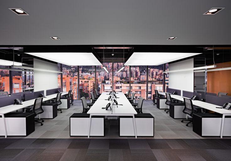 Nuevas oficinas de L´Oréal en Bogotá - Mobiliario español Ofita