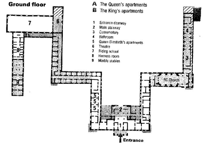 56 best famous floor plans images on pinterest floor for Famous building blueprints