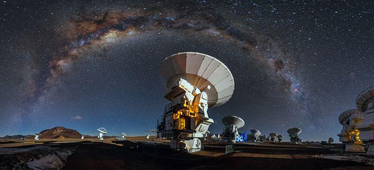 Celestial blanket | ESO