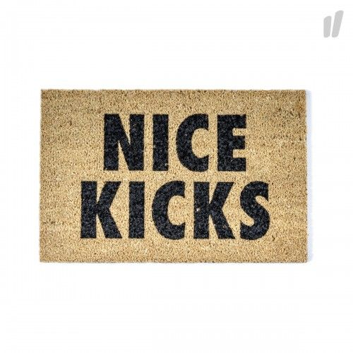 Need More Nice Kicks Doormat ( brown / black ) - OVERKILL Products & Store