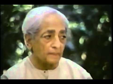Jiddu Krishnamurti - Be The Light To Yourself