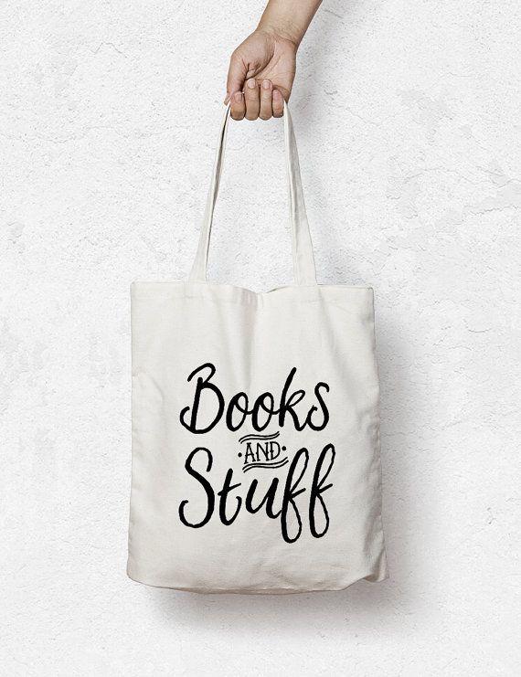 Book bag Custom Tote bag  grocery bag library Bag by MiniMoiPrints