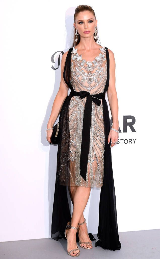 Georgina Chapman from 2017 Cannes Film Festival: amfAR Gala